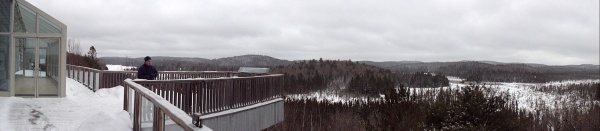 Algonquin Provincial Park  visitor center